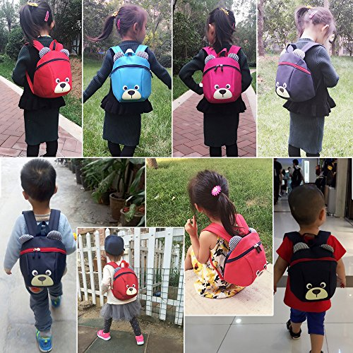 Amazon.com | Children Mini Backpacks for Toddlers Backpack Daycare Chest Strap Under 3 Years | Kids Backpacks