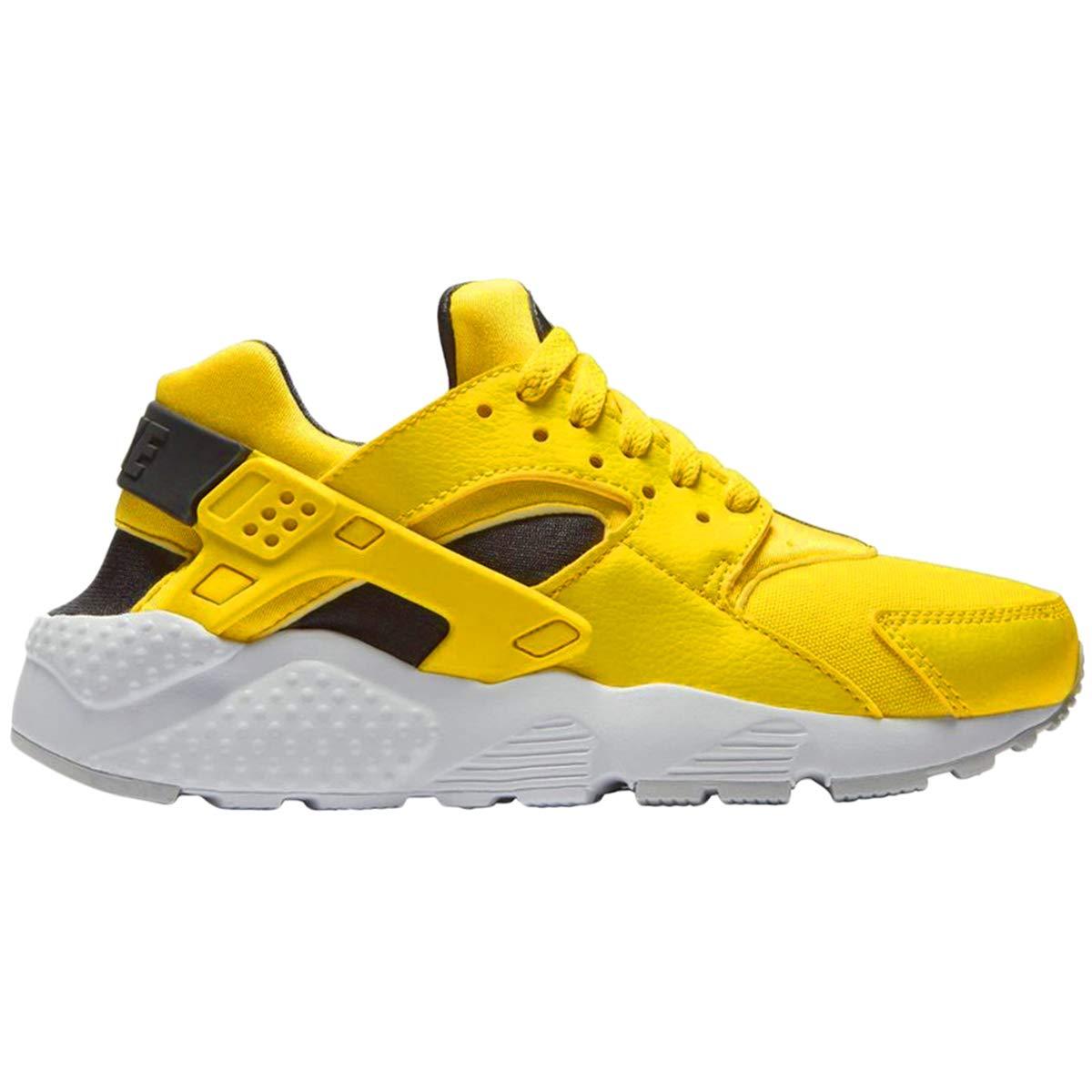 b47122164ec7 Galleon - Nike Youth Hurache Run GS Textile Yellow Anthracite White  Trainers 4.5 US