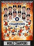 Encore MLB Houston Astros Plaque, Black, 9x12