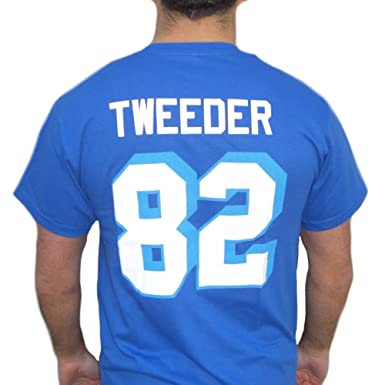 749dcc233 Image Unavailable. Image not available for. Color  Charlie Tweeder  82 West  Canaan Coyotes Jersey T-Shirt Varsity Blues