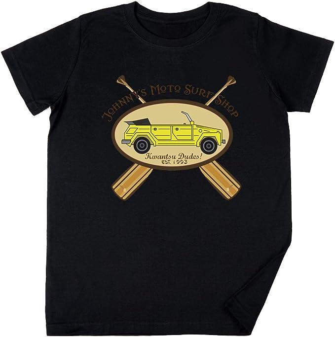 Vendax Surf Ninjas Moto Surf Niños Chicos Chicas Unisexo Camiseta Negro: Amazon.es: Ropa y accesorios