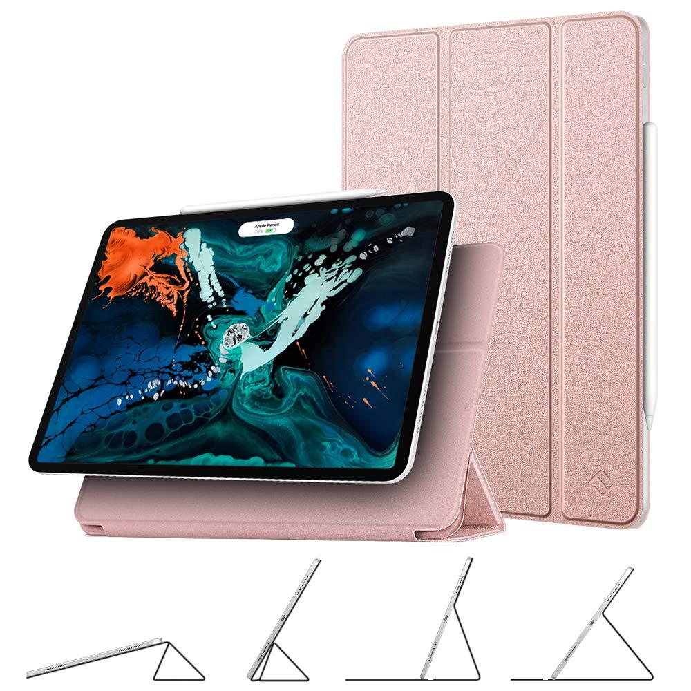 開店記念セール! Fintie 12.9インチ マグネットケース iPad Pro 12.9インチ 第3世代 ローズゴールド 2018年モデル用 [Apple Pencil第2世代充電モード対応] 第3世代 - [マルチアングルビューイング] マグネット付きスマートスタンドカバー 自動スリープ/スリープ解除機能付き EPAI095US ローズゴールド B07KT4CWSD, ミリタリー百貨シービーズ:fb37481f --- a0267596.xsph.ru
