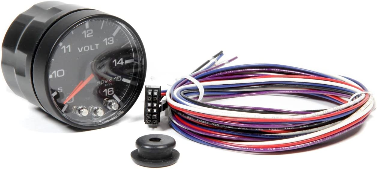 0-120 PSI, 52.4mm ProParts P325328 Spek-Pro 2-1//16 Electric Oil Pressure Gauge