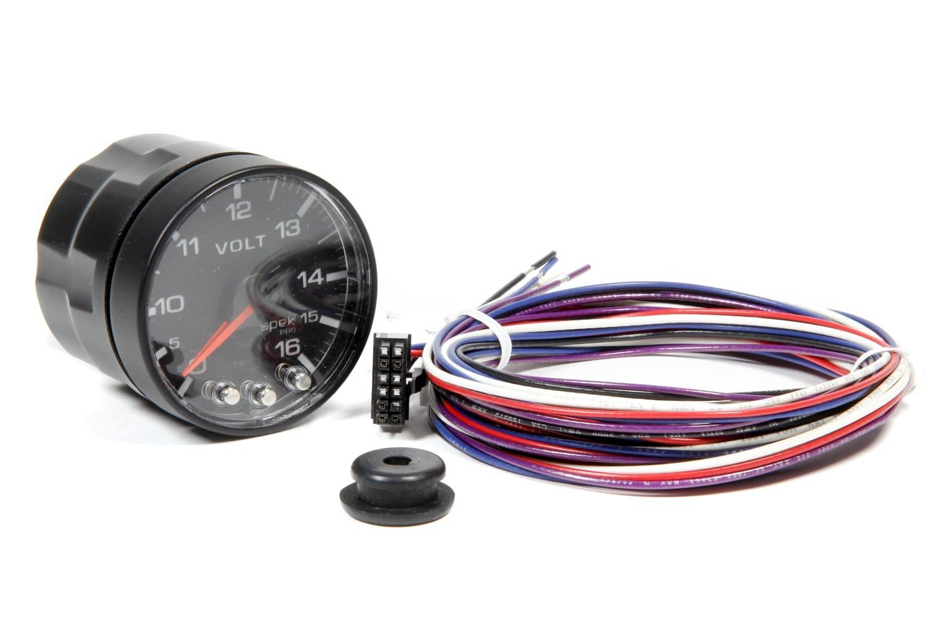 ProParts P344328 Spek-Pro 2-1/16'' Electric Voltmeter Gauge (52.4mm, 0-16 Volts)