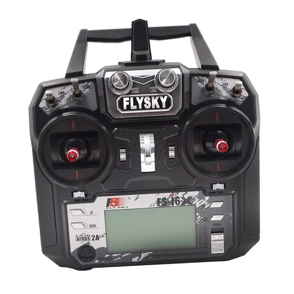 B Blesiya Flysky FS-i6X 2.4 GHz 6 CH Transmisor y FS-iA6B Receptor para RC Helicópteros Drone
