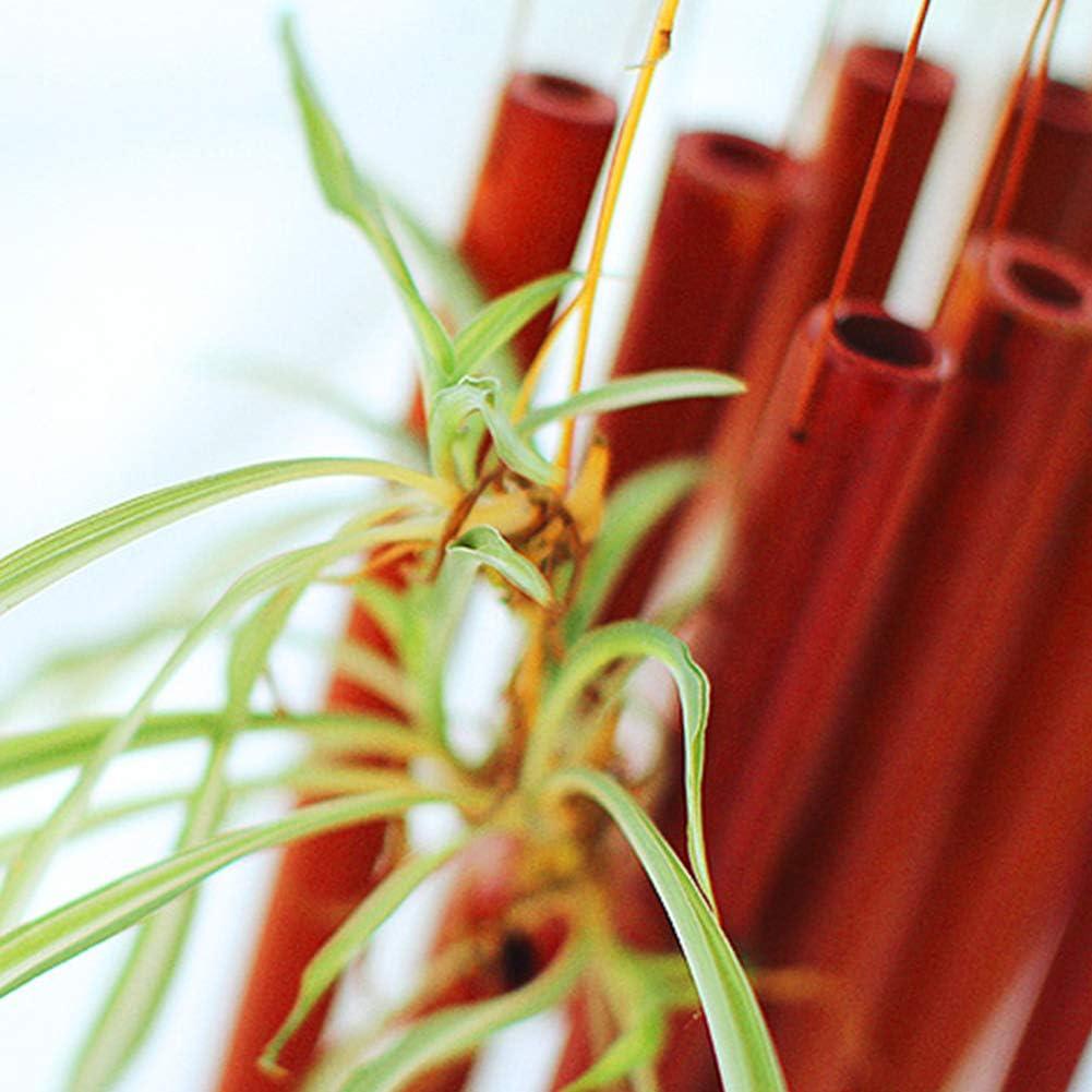 MCLseller Tube de Bambou carillons /éoliens d/écoration dint/érieur Naturelle pour Patio v/éranda Cloche Suspendue /à la Main en Forme de Bateau Jardin Symbole Chanceux