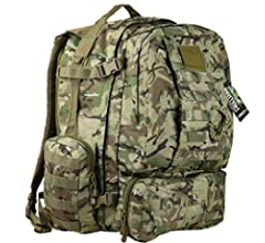 Kombat Viking Patrol Pack - Mochila, Color Olive Green, tamaño 60 ...