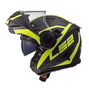 Amazon.es: LS2 FF313 Vortex Carbon Casco Moto Modular con ...