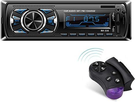 Autoradio Mit Bluetooth Freisprecheinrichtung Und Elektronik