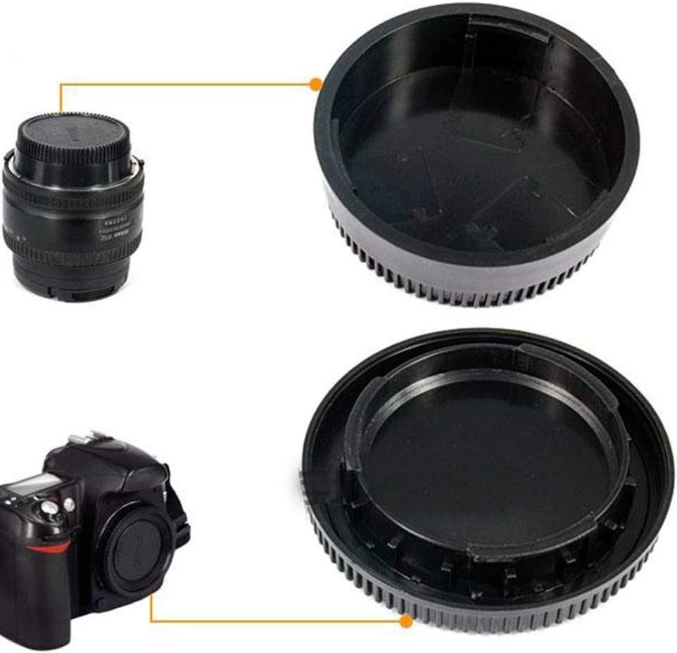 Body Cap Plastic Body Rear Lens Cover for Camera 58 22mm
