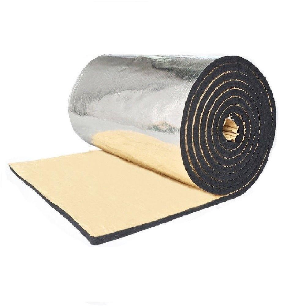 Tdogs Car Insulation,Car Sound Deadener Heat Barrier Mat Aluminum Heat Shield 160'' x 40''/60'' x 40'' (160'' x 40'')