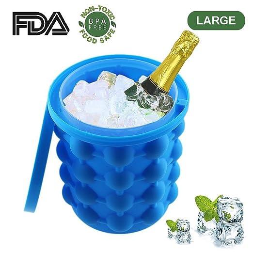 Cubitos de hielo de silicona genial, cubo de hielo, el ...