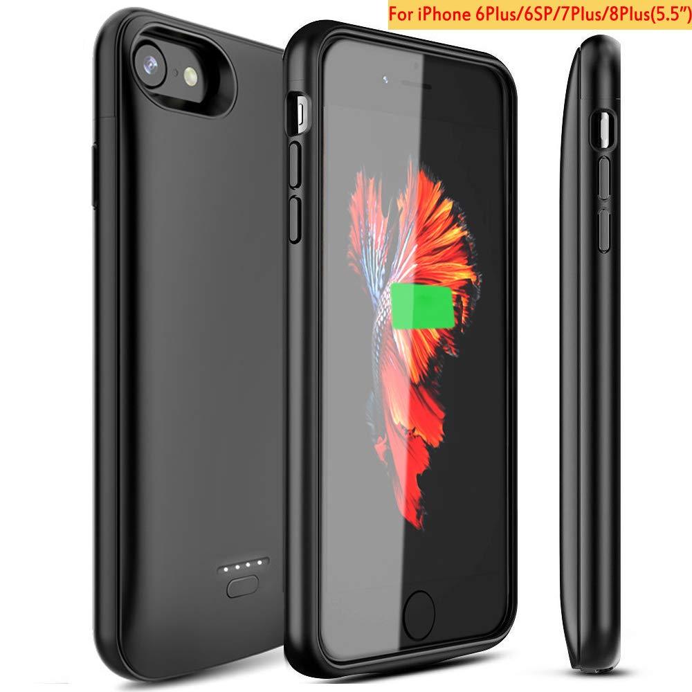 Funda de batería para iPhone, 4000 mAh, Cargador de batería portátil para iPhone 6, 6S, 7, 8 (4,7 Pulgadas) iPhone X/XS