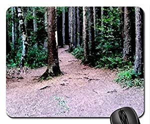 Deep in the forest Mouse Pad, Mousepad (Forests Mouse Pad, 10.2 x 8.3 x 0.12 inches)