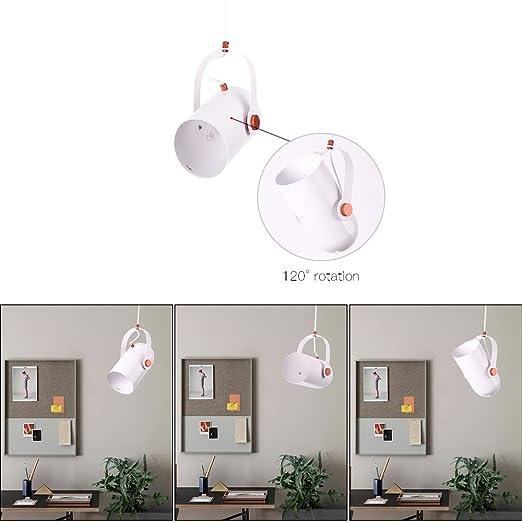 Lámpara Colgante Focos de Techo E14 Decorativo - Lámpara de ...