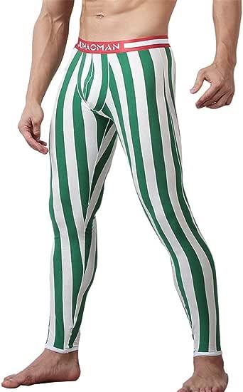 Pantalones Térmicos para Hombre - Largo Delgado Stretch