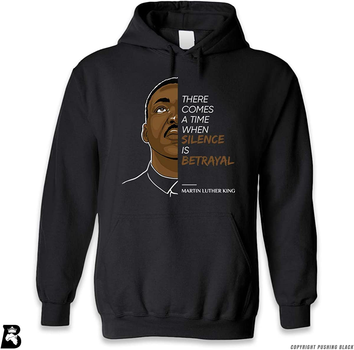 The Legacy Collection King 2 Premium Unisex Hoodie with Pocket Silence is Betrayal