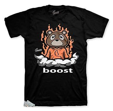 4d92d084a6a7a Tee Shirt Match Yeezy Boost Inertia 700 - Boost Bear Tee | Amazon.com