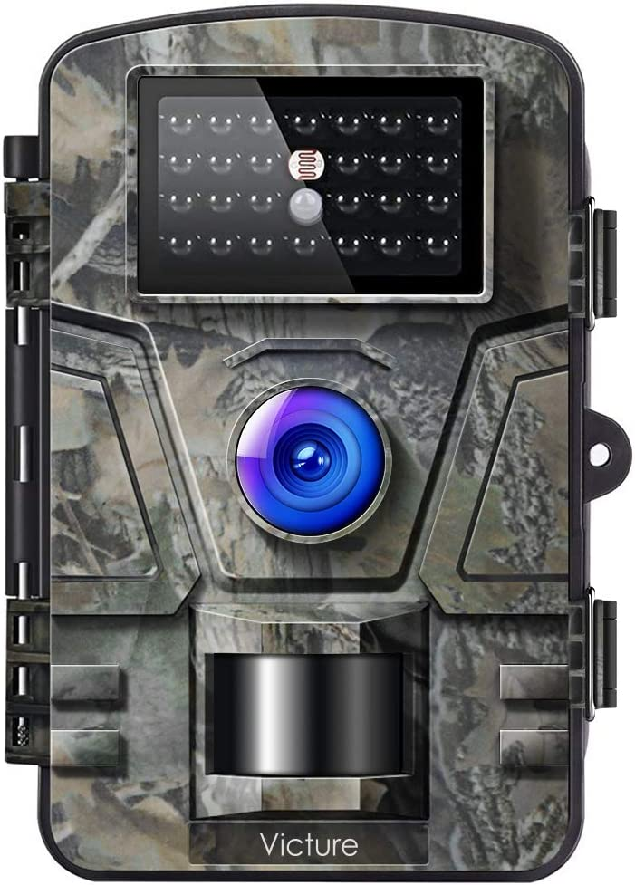 Victure Trail Game Camera 16MP with Night Vision Motion Activated 1080P Hunting Cameras