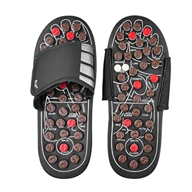 09f721d0137c Anself Acupressure Massage Slipper Foot Massager Acupoint Massager Slippers  Shoes Reflexology Sandals  Amazon.in  Shoes   Handbags