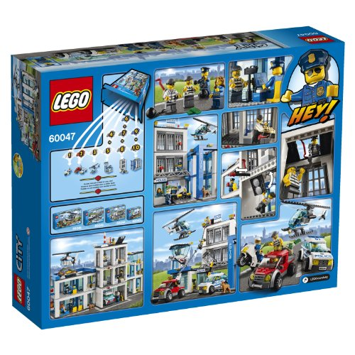 Amazon Lego City Police 60047 Police Station Toys Games