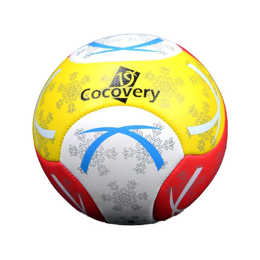 9825c3aa0febd Balón Fútbol para Playa-Foam-Cocovery19 (Amarillo)  Amazon.es  Deportes y  aire libre