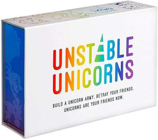 SUT Juego De Cartas, Paquete De Unicornio/Extensión Inestable, Adecuado para Juegos De Mesa De Fiesta,White: Amazon.es: Hogar