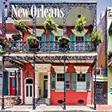 New Orleans 2018 12 x 12 Inch Monthly Square Wall Calendar, USA United States of America Louisiana Southeast City