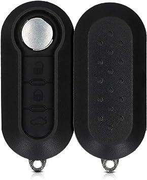 Kwmobile Autoschlüssel Gehäuse Kompatibel Mit Fiat Elektronik