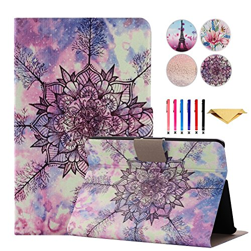 Kindle Fire HDX 7 Case - Monstek Ultra Slim Lightweight Leather Smart Stand Cover Case with Auto Sleep / Wake Function Flip Protective Cover for Fire HDX 7 2013,Milky Tree (Kindle Fire Hdx Cases And Covers)