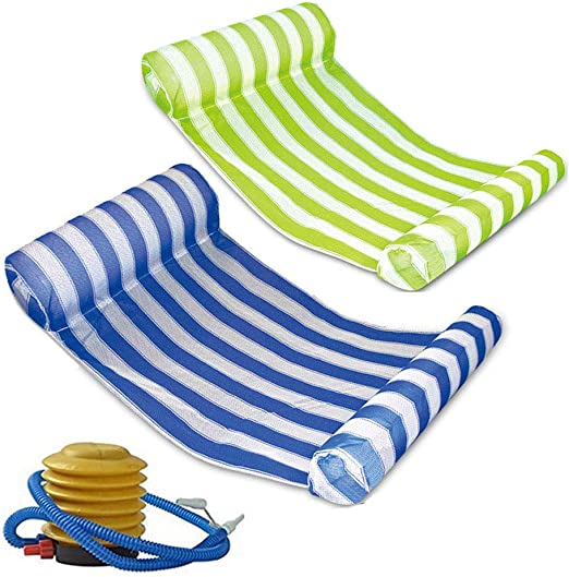 Mioshor 2 Pack Premium Water Hammock - The Most Affordable Inflatable Hammock