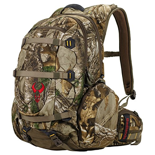 Badlands Superday Camouflage Hunting Backpack Daypack Compatible with Bow, Rifle, and Pistol Hydration Compatible