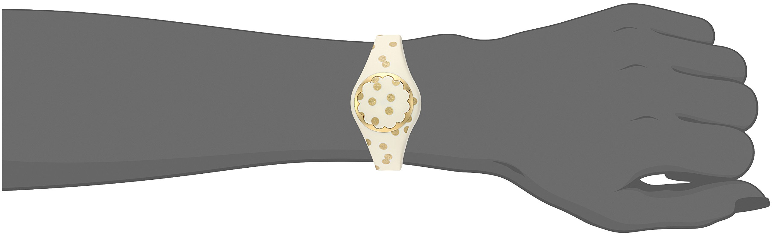 Kate Spade New York cream and gold dot scallop activity tracker by Kate Spade New York (Image #3)