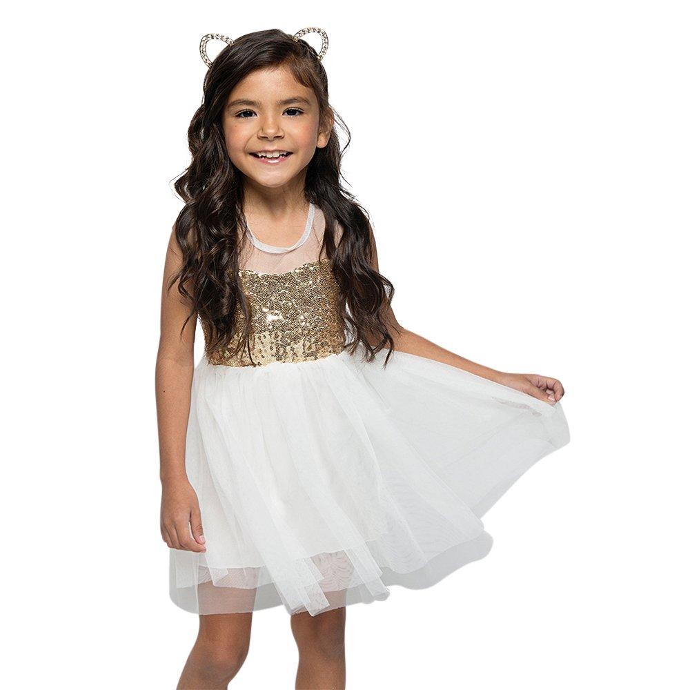 Amazon.com  All That Sparkles Mesh Skater Dress  Clothing 0622dc75b
