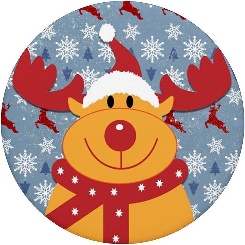 Phone Grip Collapsible Stand Holder Mount Santa Reindeer Snowman Elf Christmas