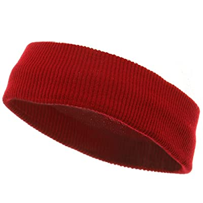 Head Bands (wide)-Red W13S26F