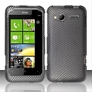 Rubberized Carbon Fiber Design for HTC HTC Radar 4G