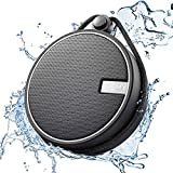INSMY Portable Shower Bluetooth Speaker, IPX7 Waterproof Wireless Outdoor Speaker with HD Sound, Support TF Card, Suction Cup for Home, Pool, Beach, Boating, Hiking 12H Playtime