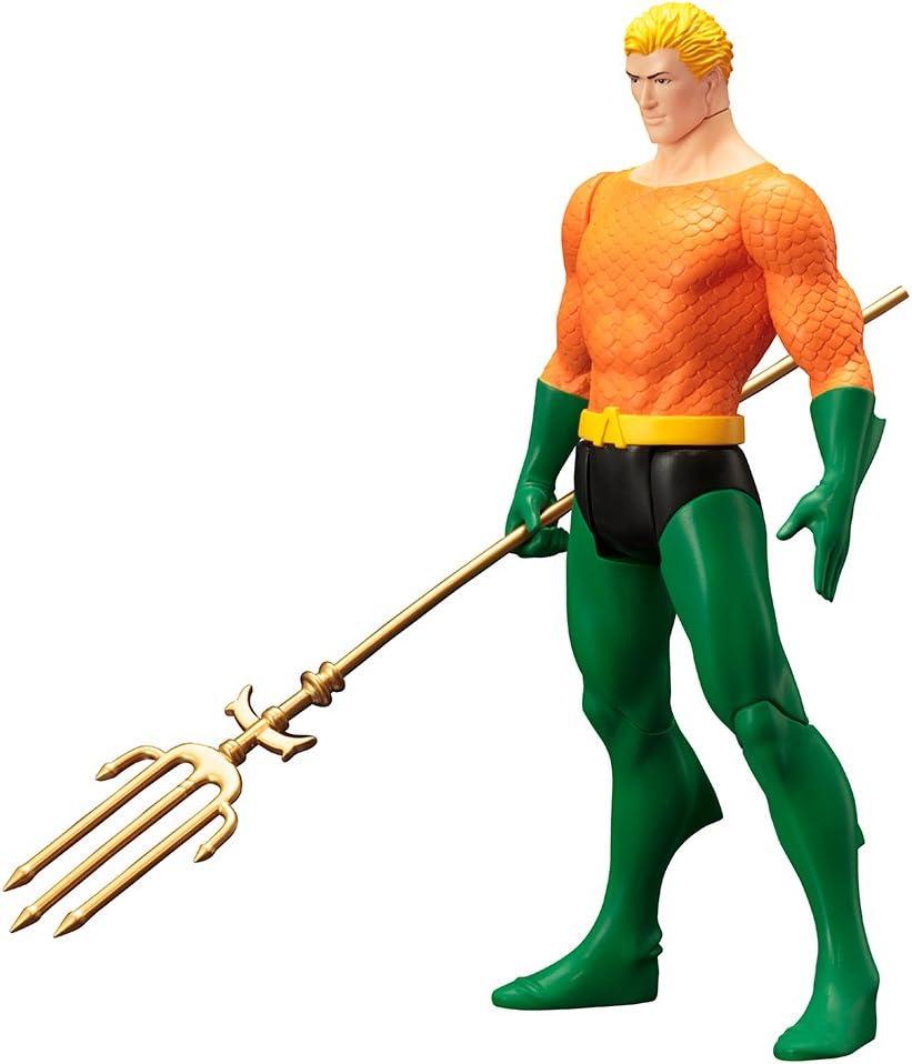 DC Comics SV142 DC Universe Aquaman - Disfraz clásico de artfx+: ...