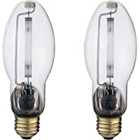 LU50/MED | High Pressure Sodium HID Light Bulb | 50W E26 Base ED17 ANSI Code S68 | High Output HID Light | 2000K Warm…