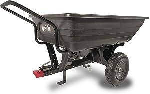 Agri-Fab 45-0345 350-Pound Poly Convertible Push/Tow Dump Cart