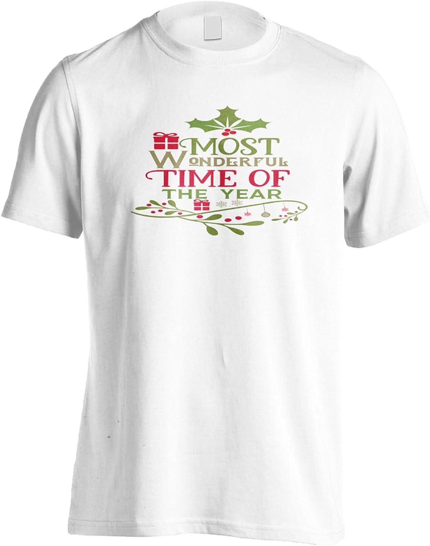 INNOGLEN La época más Maravillosa del año Camiseta de los Hombres u154m: Amazon.es: Ropa y accesorios