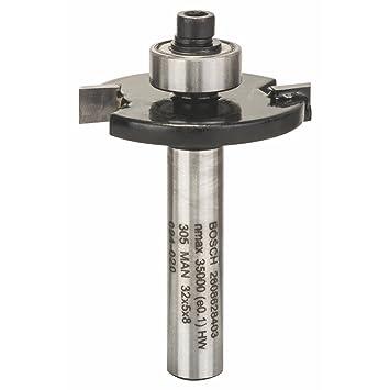 Bricolage Bosch 2608628353 Fraise à bouveter 8 mm 25 x 8 x 58 mm