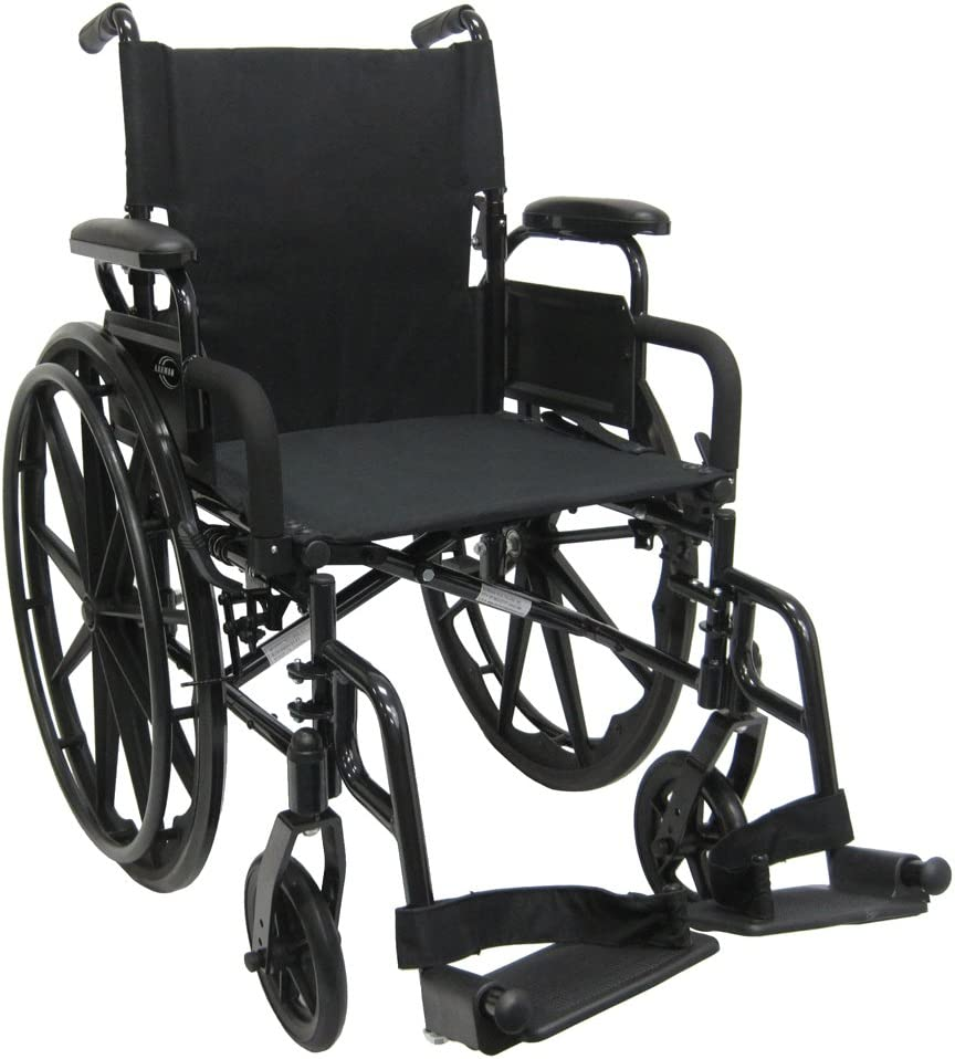 B006MH4YV6 Karman 30 lb Lightweight Wheelchair Flip Back Armrest, Black 61r8z4w9w8L.SL1000_