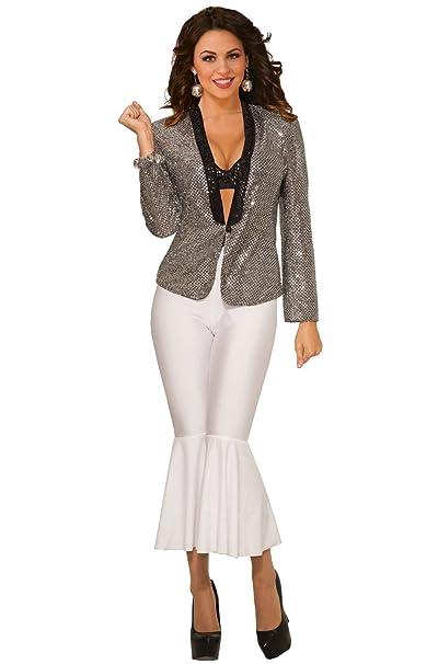 482819c04 Amazon.com: Forum Novelties 80477 Disco Sequin Blazer Female Party ...