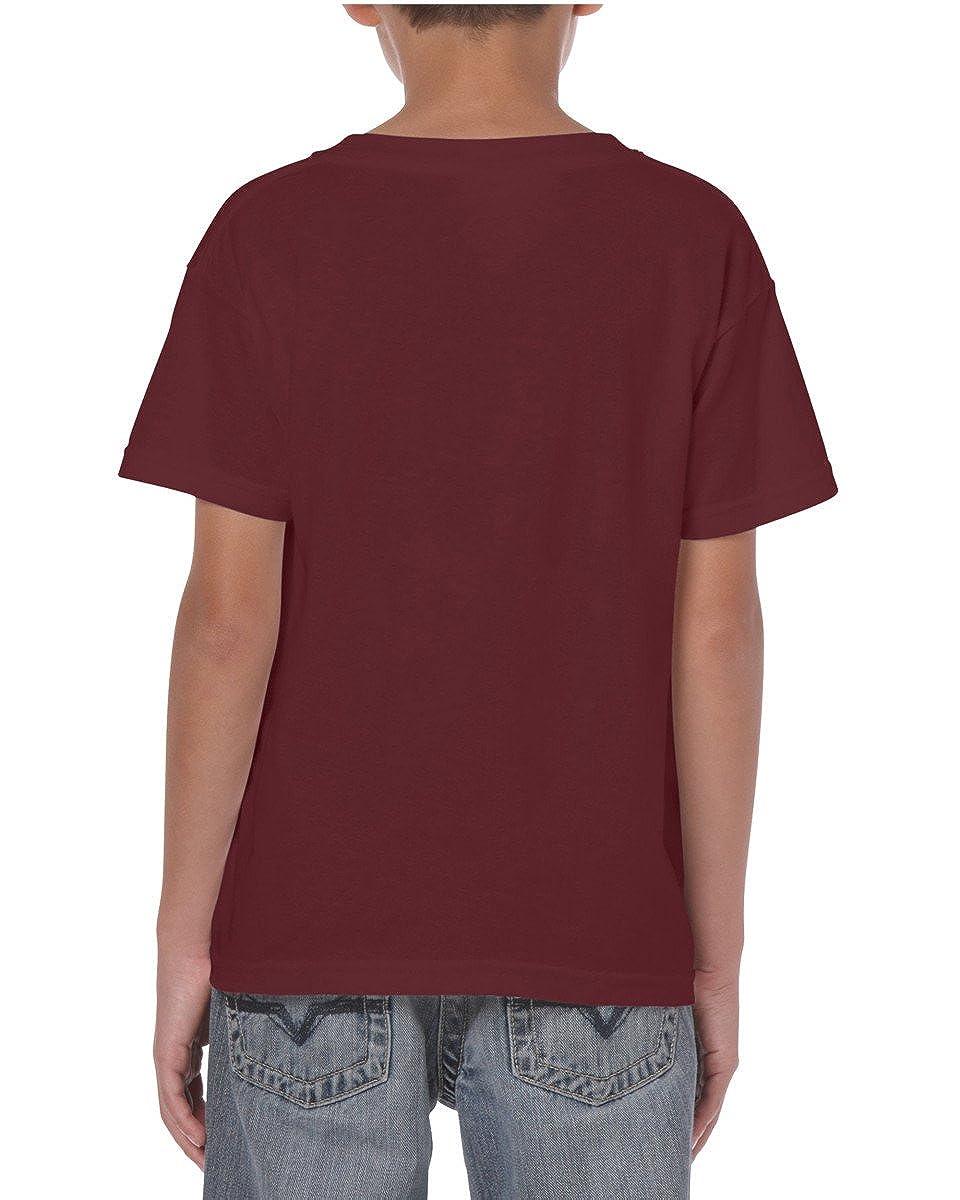 Fruit of The Loom Children T-Shirt Crew Neck Top Plain Toddler Unisex Kids Age 1-15