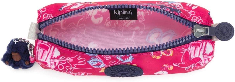 Kipling D Freedom Estuche Garabatos Rosa: Amazon.es: Oficina y papelería