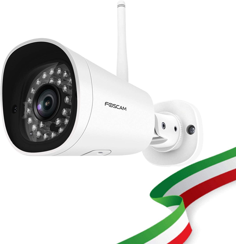 Foscam Fi9902p 2 Megapixel Full Hd1080p H 264 Wireless Kabel Mit Nachtsicht 20 Meter 3 W 12 V Kompatibel Mit Alexa Baumarkt