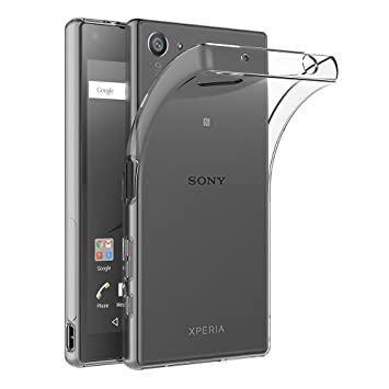 AICEK Funda Sony Xperia Z5 Compact, Transparente Silicona Fundas ...
