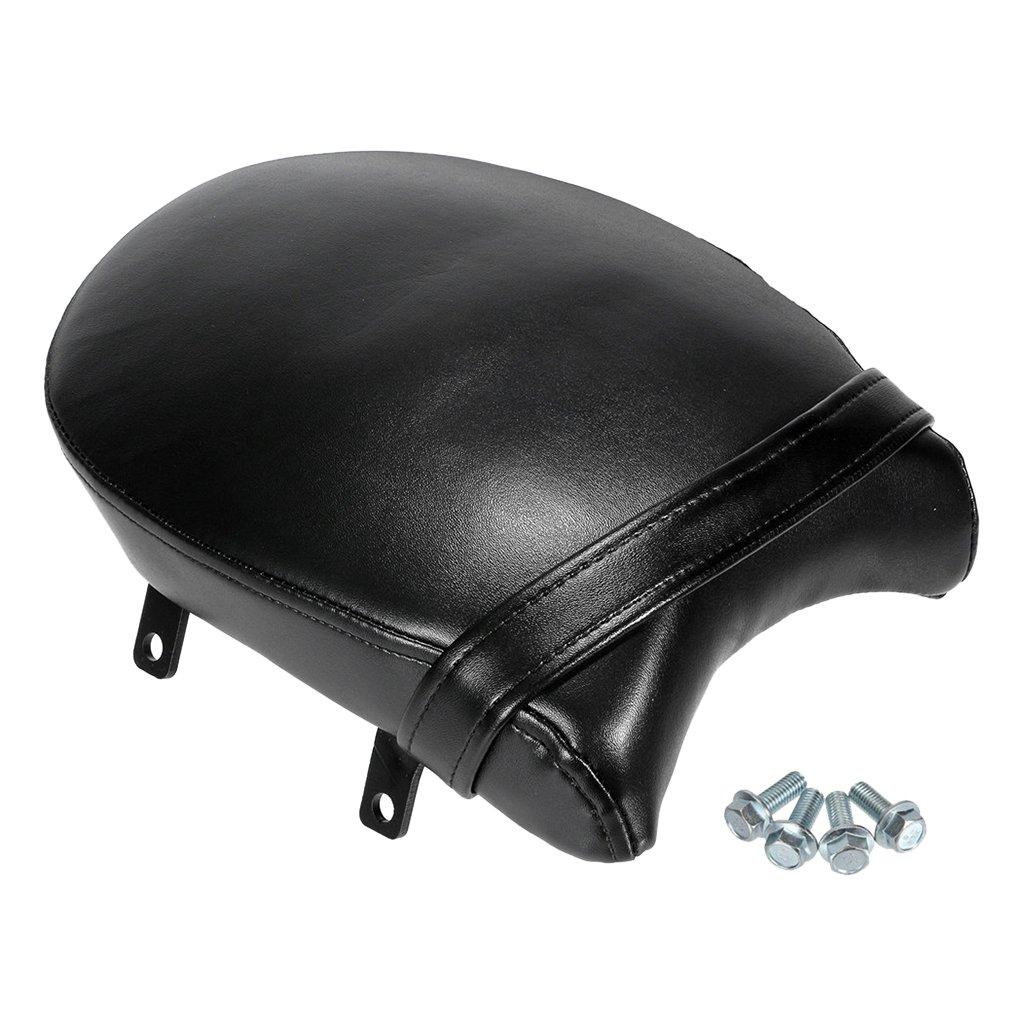 Sharplace Noir Si/ège Passager Arri/ère Seat Pillion en Cuir PU pour Victory